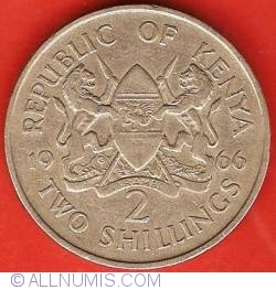Image #1 of 2 Shillings 1966