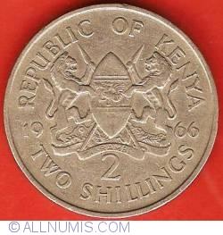 Imaginea #1 a 2 Shillings 1966