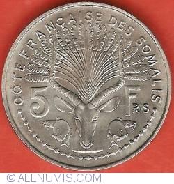 Imaginea #2 a 5 Francs 1959