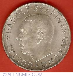 Image #1 of 5 Kronor 1952 - 70th Anniversary of Gustaf VI Adolf
