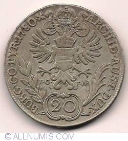Image #2 of 20 Kreuzer 1780