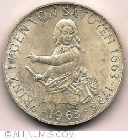 Image #2 of 25 Schilling 1963 - 300th Anniversary - Birth Of Prince Eugene of Savoy