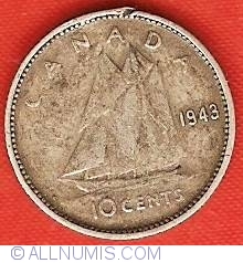 Image #2 of 10 Cents 1943
