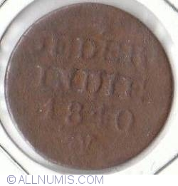 Image #2 of 1 Cent 1840