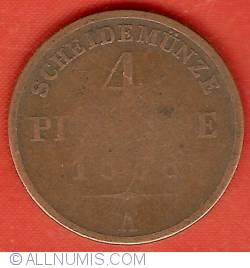 Image #2 of 4 Pfennige 1858