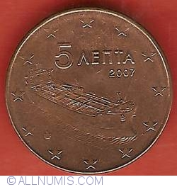 Image #2 of 5 Euro Cent 2007