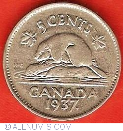 5 Cents 1937.
