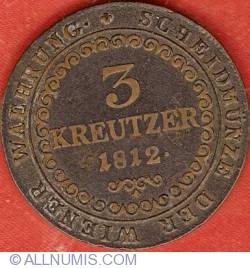 Image #2 of 3 Kreuzer 1812 B
