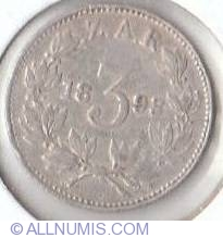Image #2 of 3 Pence 1893