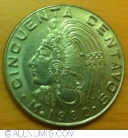 Imaginea #2 a 50 Centavos 1980