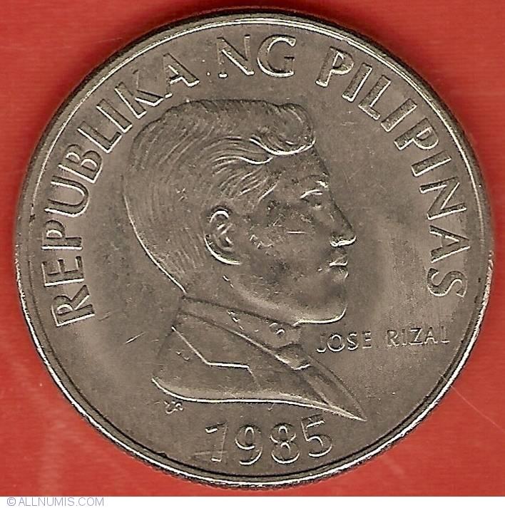 1 Piso 1985, Republic (1981-2000) - Philippines - Coin - 21173