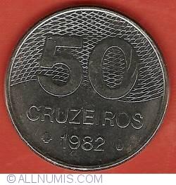 Image #2 of 50 Cruzeiros 1982