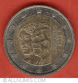 Image #2 of 2 Euro 2009 - 90th Anniversary of Accession of Grand-Duchess Charlotte