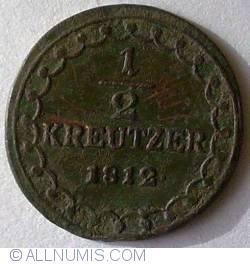 1/2 Kreutzer 1812 A