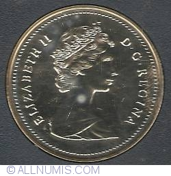 Image #1 of 1 Dollar 1987 - 400th since the exploration of Davis Strait
