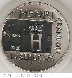 Image #2 of 500 Francs 2000 - Coronation Of Grandduke Henri