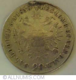 Image #2 of 20 Kreuzer 1838 E