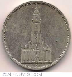 Image #2 of 5 Reichsmark 1934 G
