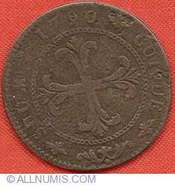 Imaginea #2 a 4 Kreuzer 1790