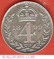 Fourpence 1899