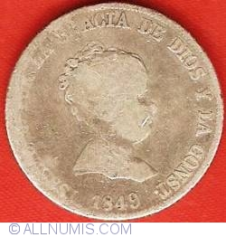 Image #1 of 4 Reales 1849 M