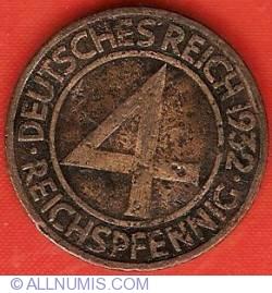 Image #1 of 4 Reichspfennig 1932 A