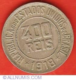 Image #1 of 400 Reis 1918