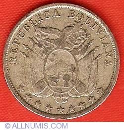 Imaginea #1 a 5 Centavos 1892