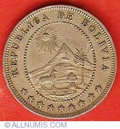 Imaginea #1 a 5 Centavos 1918