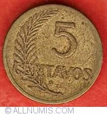 Image #2 of 5 Centavos 1942