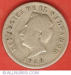 Image #1 of 5 Centavos 1948