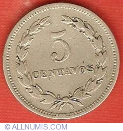 Image #2 of 5 Centavos 1948