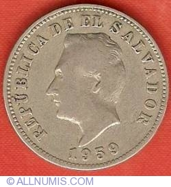Imaginea #1 a 5 Centavos 1959