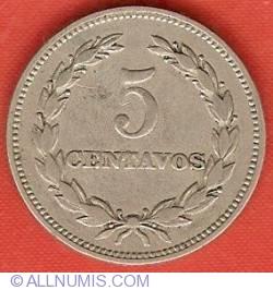 Imaginea #2 a 5 Centavos 1959