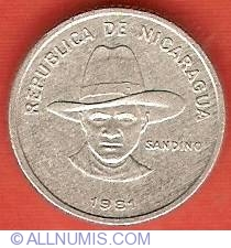 NICARAGUA  1994  5 CENTAVOS  KM80  UNCIRCULATED COIN