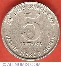 Image #2 of 5 Centavos 1981