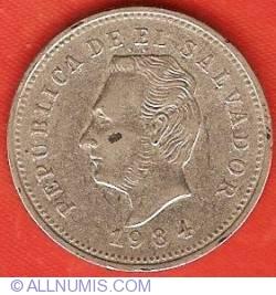 Imaginea #1 a 5 Centavos 1984