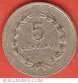 Imaginea #2 a 5 Centavos 1984