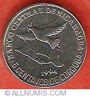 Image #2 of 5 Centavos 1994