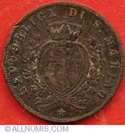 Imaginea #1 a 5 Centesimi 1869 M