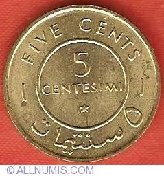 Image #2 of 5 Centesimi 1967