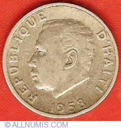 Imaginea #1 a 5 Centimes 1958