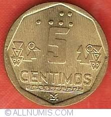 Image #2 of 5 Centimos 1997