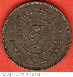 Image #2 of 5 Cents 1877