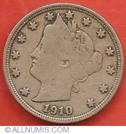 Liberty Head Nickel 1910
