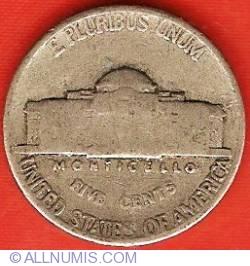 Image #2 of Jefferson Nickel 1940