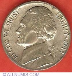 Image #1 of Jefferson Nickel 1943 P