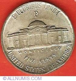 Image #2 of Jefferson Nickel 1943 P