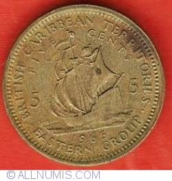 Image #2 of 5 Cents 1965