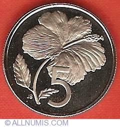 Imaginea #2 a 5 Cents 1973